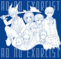 Ao no Exorcist by Karruto