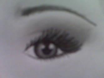 Eye study by Poess