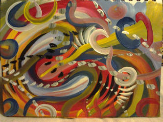 untitled abstract by Poess