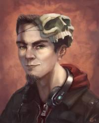 Self Portrait by UrbanDrawer