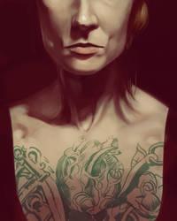 Portrait Raffle #2 by UrbanDrawer
