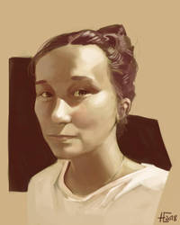 Giveaway Portrait by UrbanDrawer