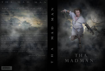 Book Cover - -THA MAD MAN by jarryshah
