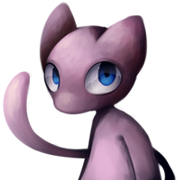 (somewhat lazy) mew doodle thing by Eisschicht
