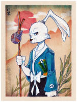 Usagi Yojimbo by ChrissieZullo