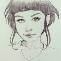 Smirk by ChrissieZullo