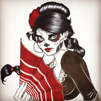 Maria from Deadly Class by ChrissieZullo