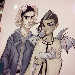 Saga commission by ChrissieZullo