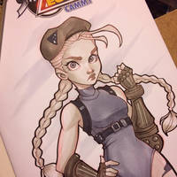 Cammy Commission by ChrissieZullo