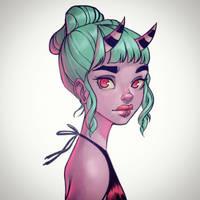 Horns by ChrissieZullo