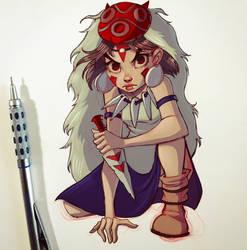 Princess Mononoke by ChrissieZullo