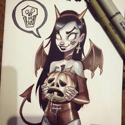 Zombie Tramp by ChrissieZullo