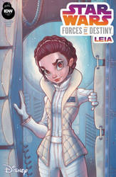 Star Wars Forces of Destiny Leia Variant by ChrissieZullo