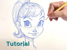 How To Draw the Face Tutorial by ChrissieZullo