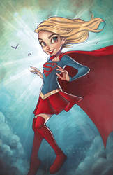 Supergirl by ChrissieZullo
