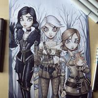 Witcher by ChrissieZullo