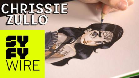 Chrissie Zullo SYFY Tutorial by ChrissieZullo