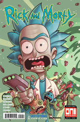 Rick and Morty #41 by ChrissieZullo