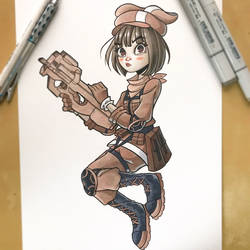 LLENN from SAO by ChrissieZullo