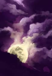 Moon by FairyOpossum