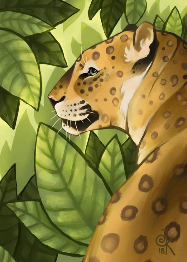leopardo by FairyOpossum
