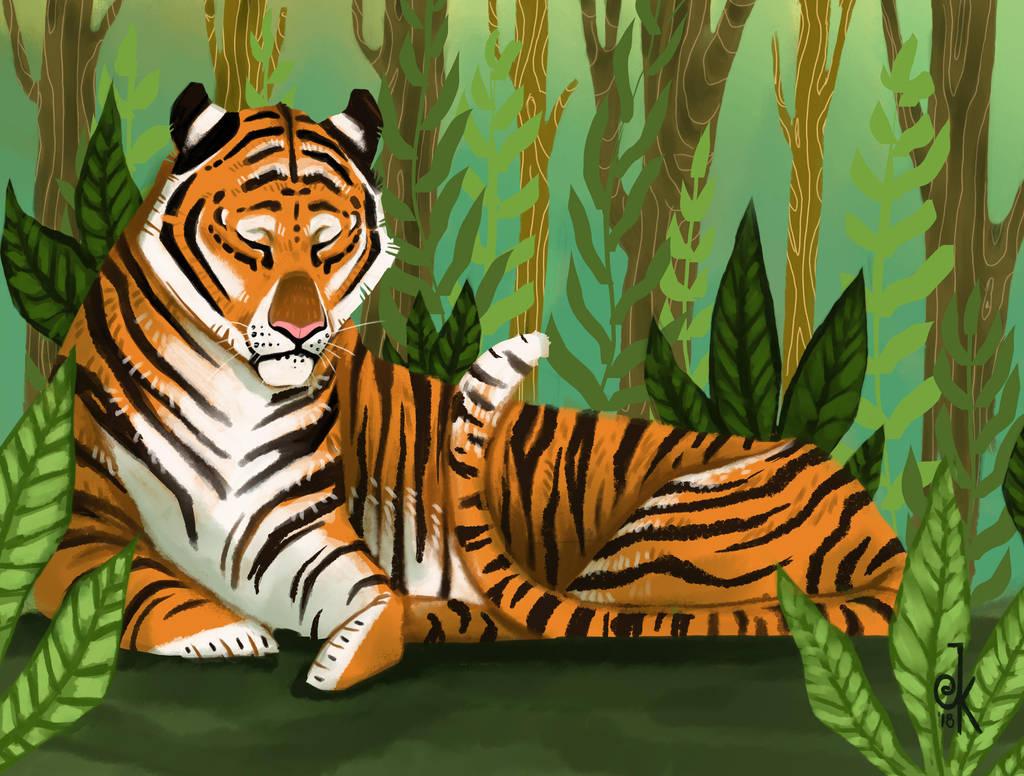 tiger by FairyOpossum