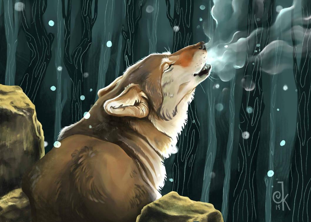 howling by FairyOpossum