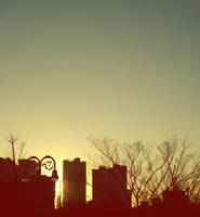 matahari tenggelam.. by 8rurupyon8