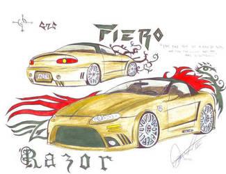 Chevy Camaro 2001 'Fiero' by RazorGZC