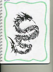 Dragon Tribal by RazorGZC
