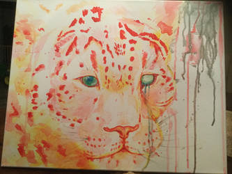 Leopard Watercolor by badC4T