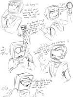 Spec doodles galore by inkspecco