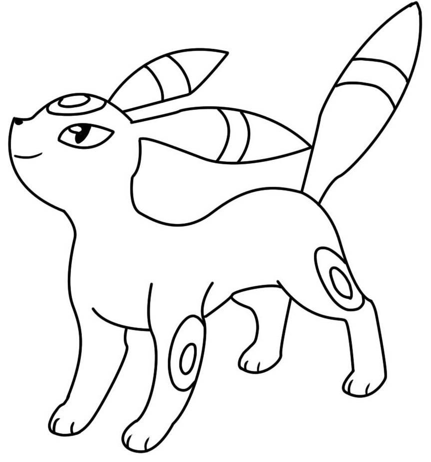 Pokemon Lycanroc Kleurplaat