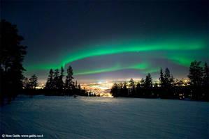 Aurora Borealis by RoieG