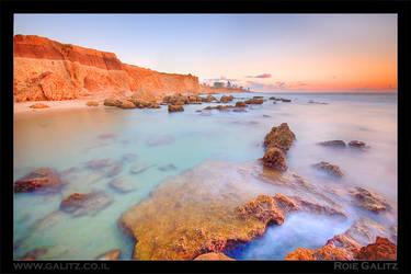 Netanya's Cliffs by RoieG