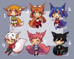 1/6 Little Fox Auction SB 1$ (OPEN) by Kuroijen