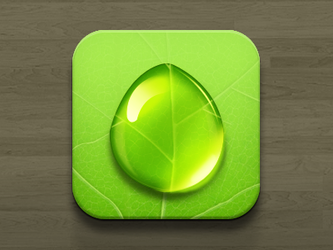 Droplet iOS by Icondesire