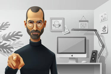 Steve Jobs by Icondesire