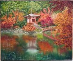 japanischer See by MarkusMalerei