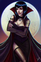 Vampire Girl. by victter-le-fou