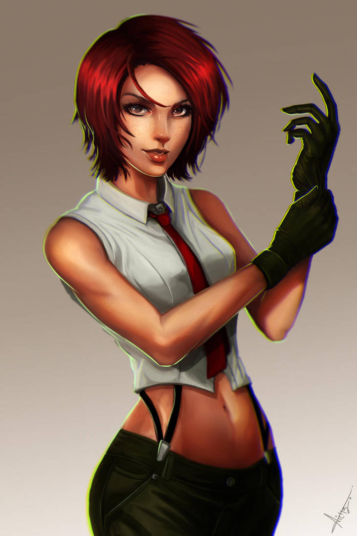 Vanessa KOF tribute. by victter-le-fou