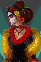 Catrina Dia de los Muertos by victter-le-fou