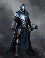 A knight by victter-le-fou