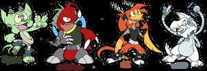 Little Team Prototype by Yark-Wark
