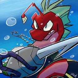 Harpoon Phish by Yark-Wark