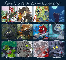 Art Summery '16 by Yark-Wark