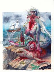 Ariel the Sealiche by Magato
