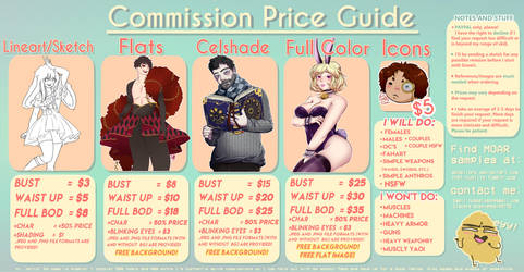 Commission Prices by AkosiLors