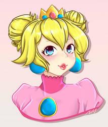 Peach Buns by AkosiLors
