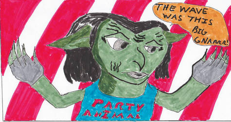 Drawlloween 10/11/16 - Goblins by deliciousdemonhouse